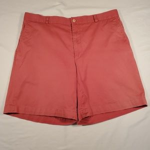 27503d069e36 Southern Tide mens flat front coral shorts 38